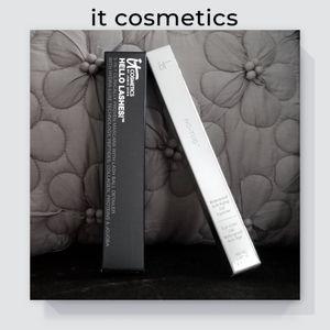 NIB IT Cosmetics Mascara & Eyeliner Gel Duo